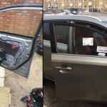 Toyota Front Door Glass Replacement